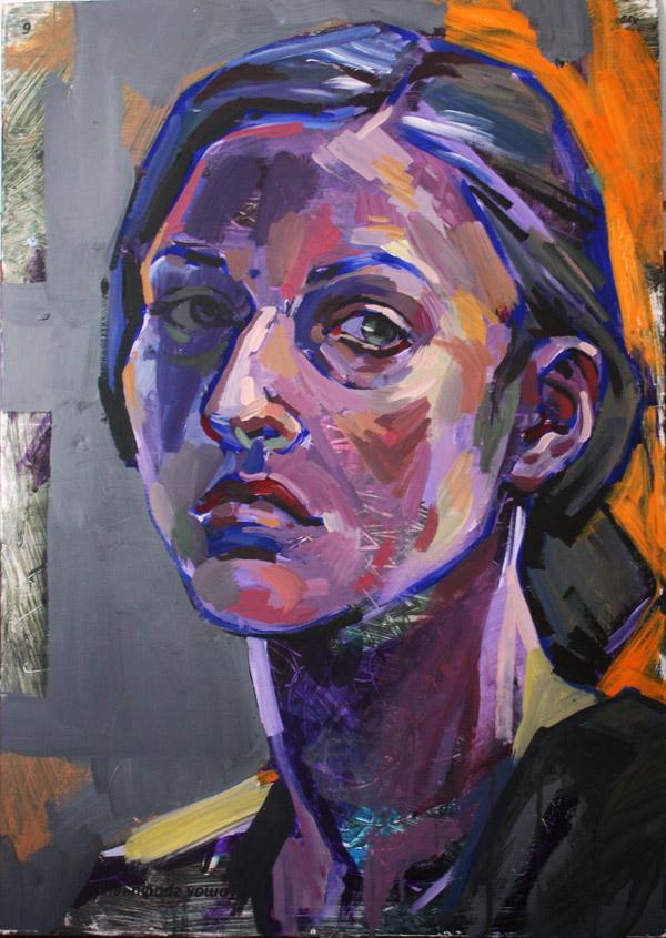 Картина Портрет на жена