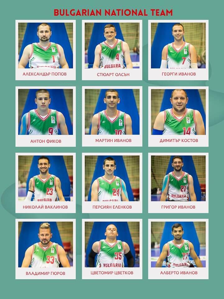 Български национален отбор по баскетбол в колички