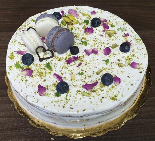 торта с натурални продукти